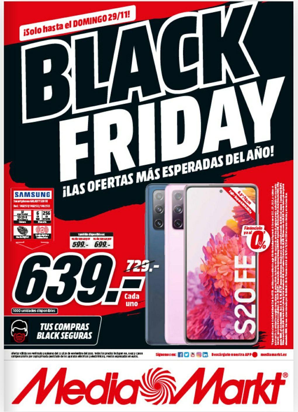 Catálogo MediaMarkt Black Friday