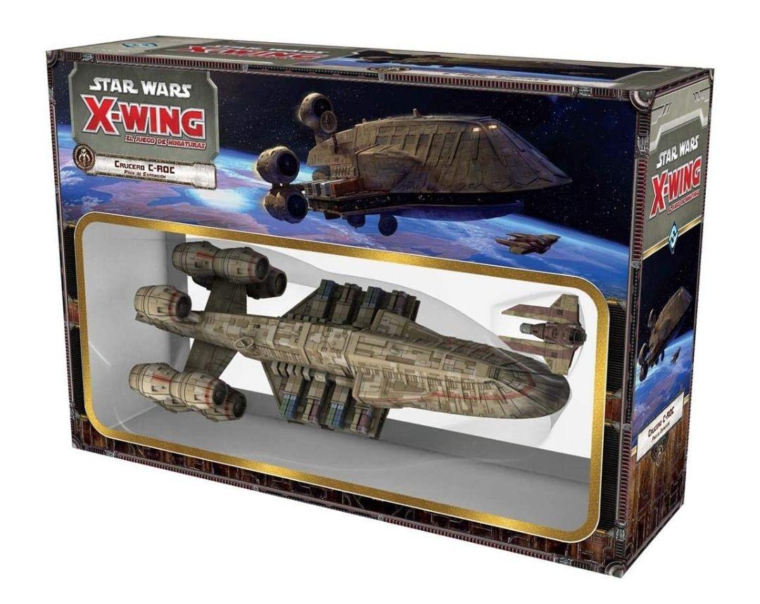 Fantasy Flight Games- Star Wars X-Wing: Crucero C-ROC - Español, Color (FFSWX58)