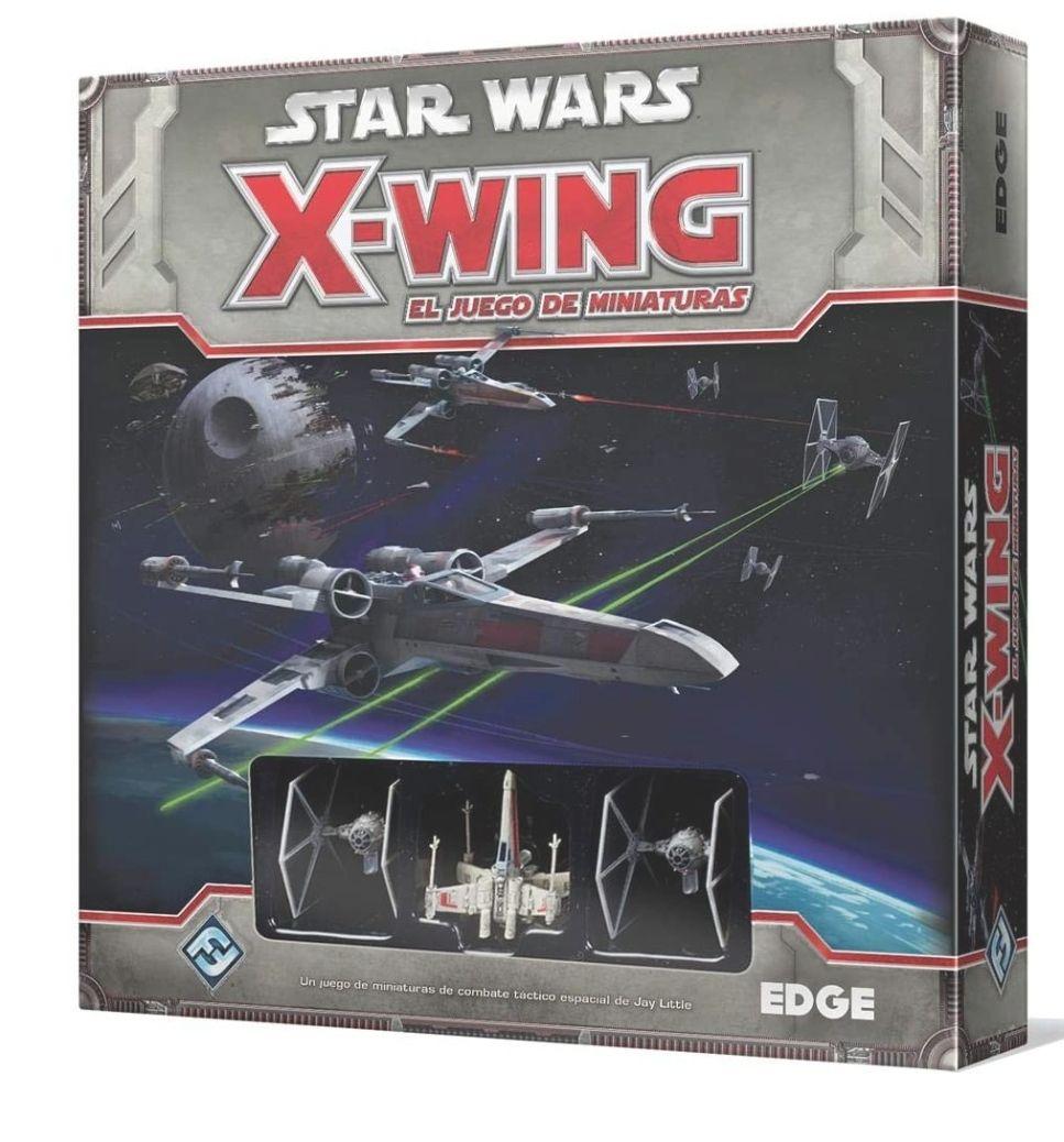 Fantasy Flight Games- Star Wars X-Wing Caja Basica, Color, 32.5 x 25.7 x 6.1 (Edge Entertainment EDGSWX01)