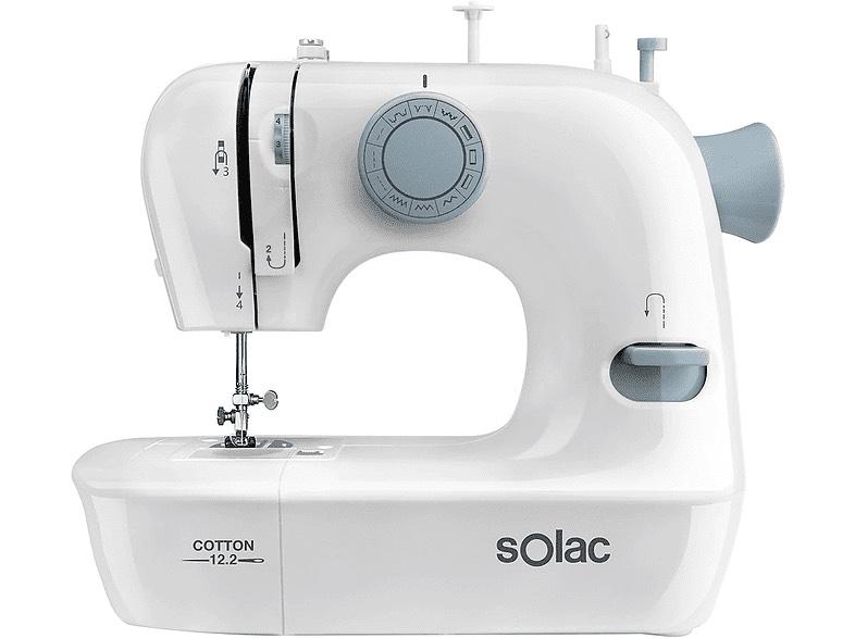 Máquina de coser Automática - Solac Cotton 12.2 SW8221
