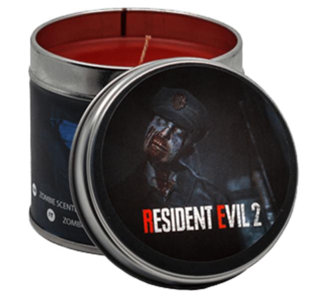 Vela Resident Evil 2 con hedor a zombie putrefacto (y de Crash para remediarlo)