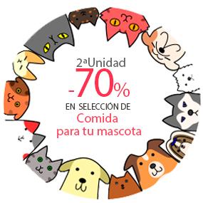 2ª Ud. al 70% en alimento para tu mascota