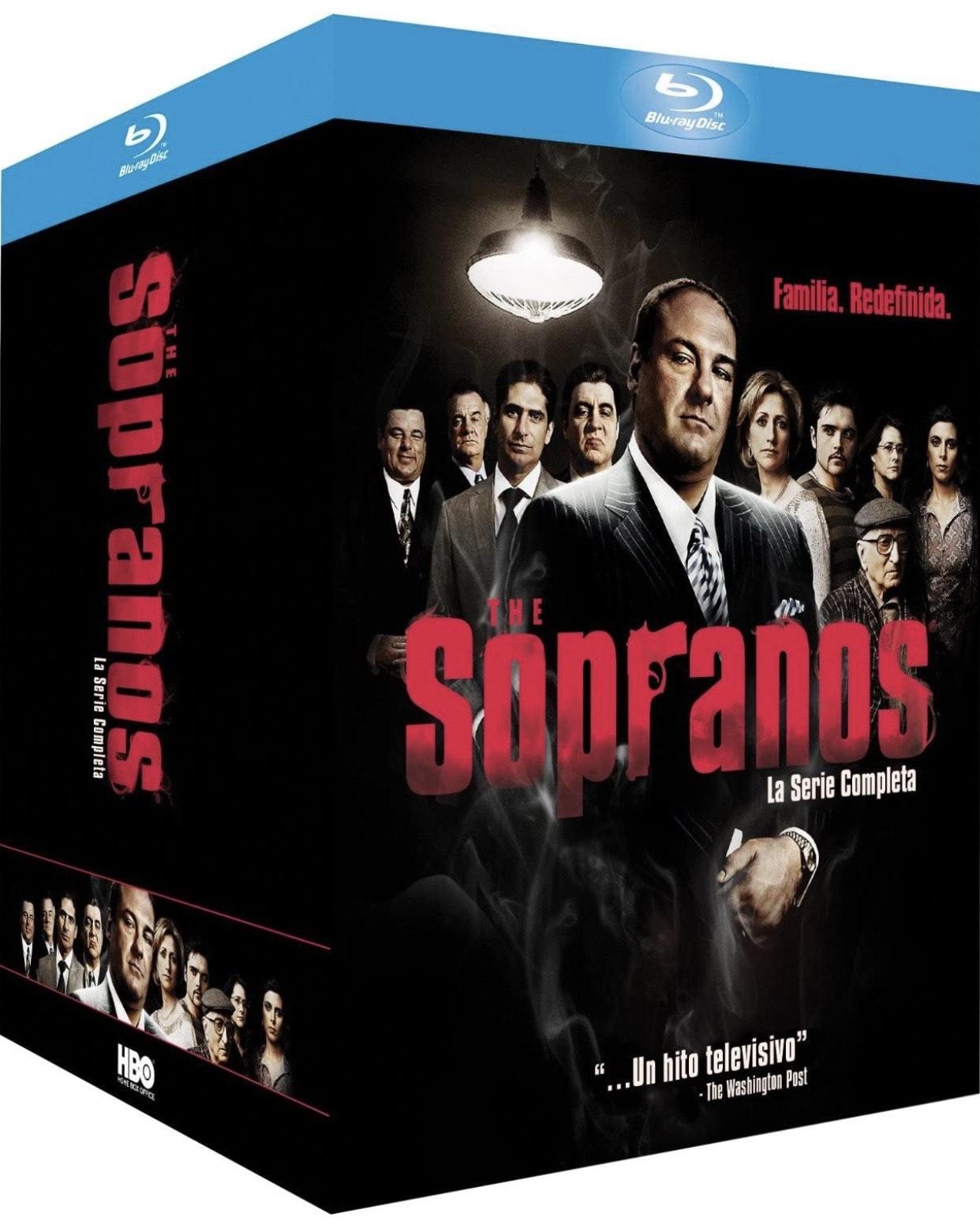 Los Soprano (Serie Completa Bluray)