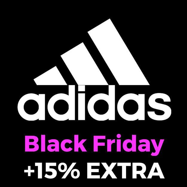 Black Friday en ADIDAS + 15% EXTRA