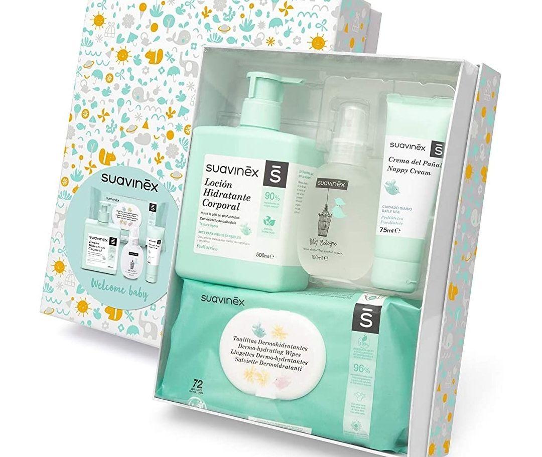 Canastilla de cosmética para bebé/Canastilla de regalo para recién nacido - Precio mínimo histórico