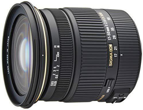 Sigma 17-50 mm f/2.8 EX DC OS HSM para Canon