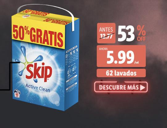 Skip® Detergente en polvo active clean