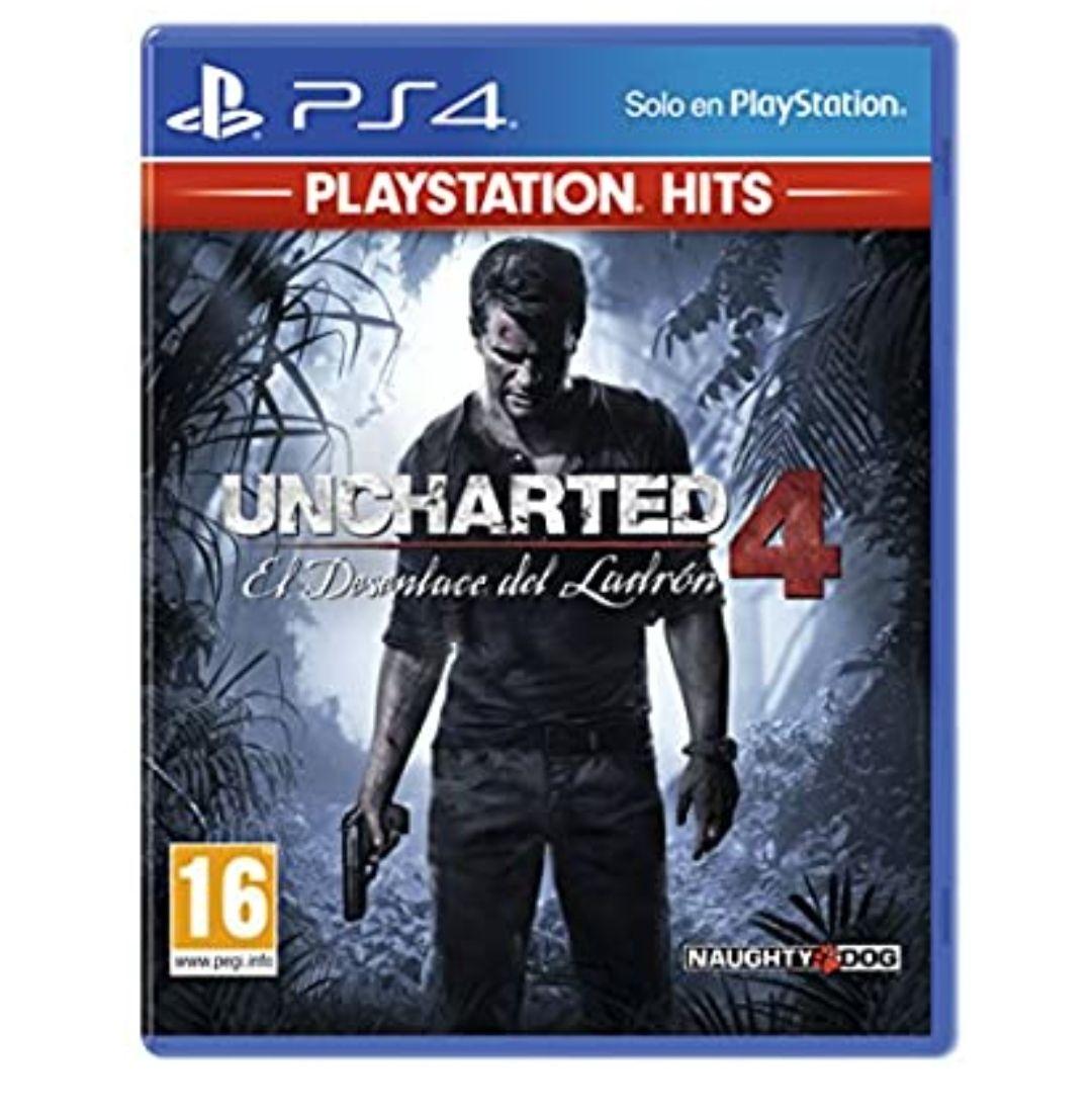 Uncharted 4 PS4 (Amazon)