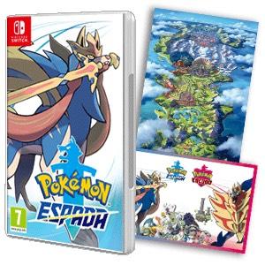 Pokemon espada y escudo para nintendo switch