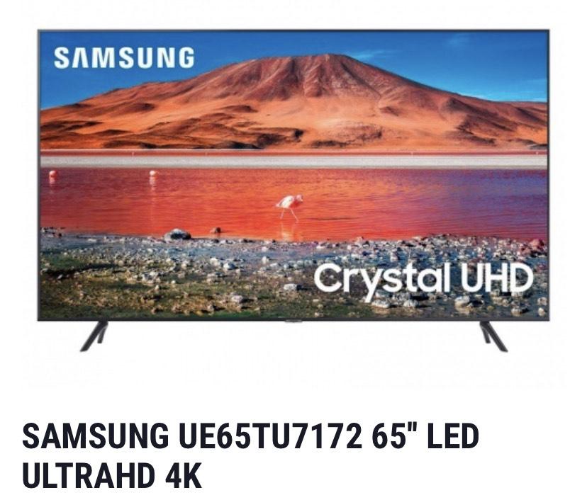 SAMSUNG UE65TU7172 65'' LED ULTRAHD 4K