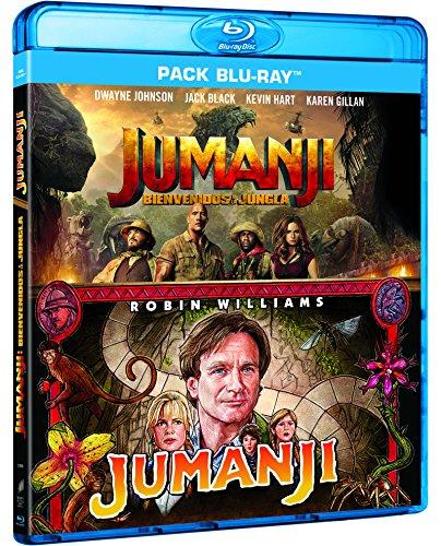 Pack Jumanji 1995+2017