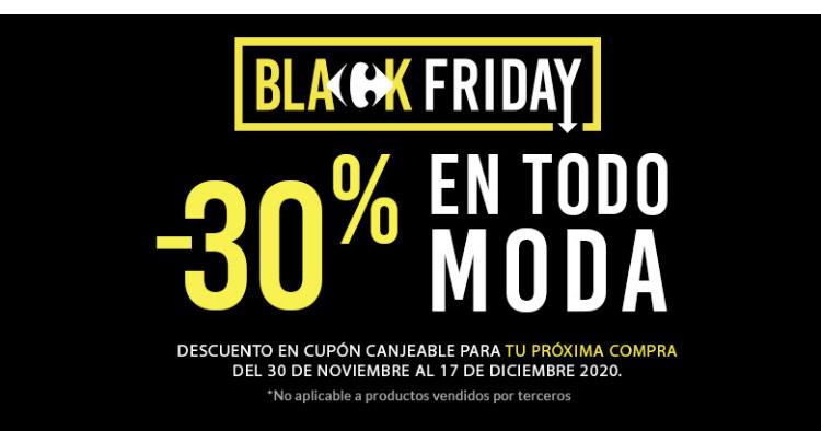 Black Friday Moda Carrefour -30%