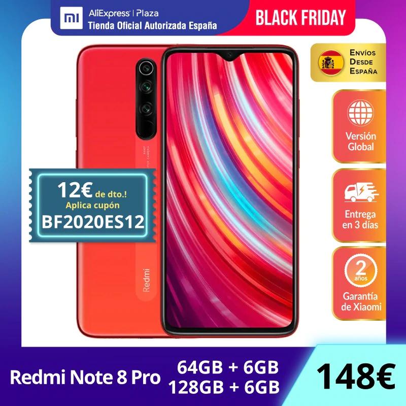 Xiaomi Redmi Note 8 Pro 6/64 GB por 138 € (España)