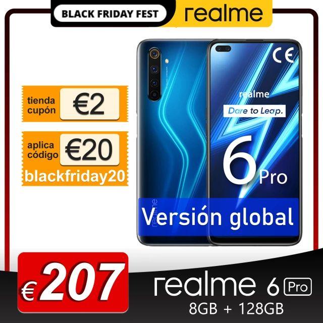 Realme 6 8GB 128GB - Desde España