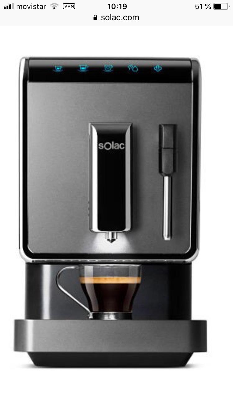 Maquina de cafe SOLAC automatic coffeemaker