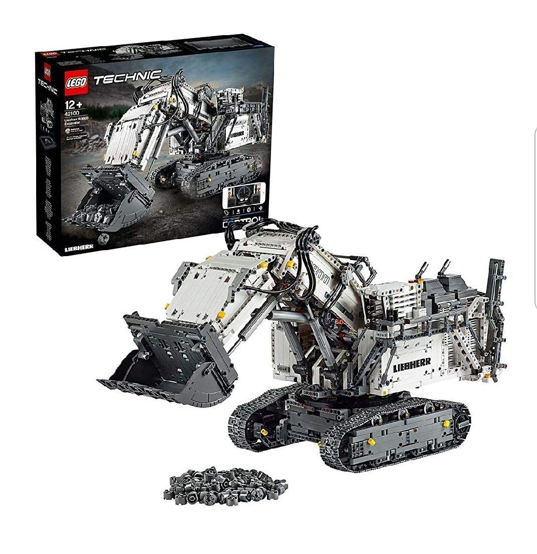 Lego 42100 Technic Excavadora Liebherr R 9800,