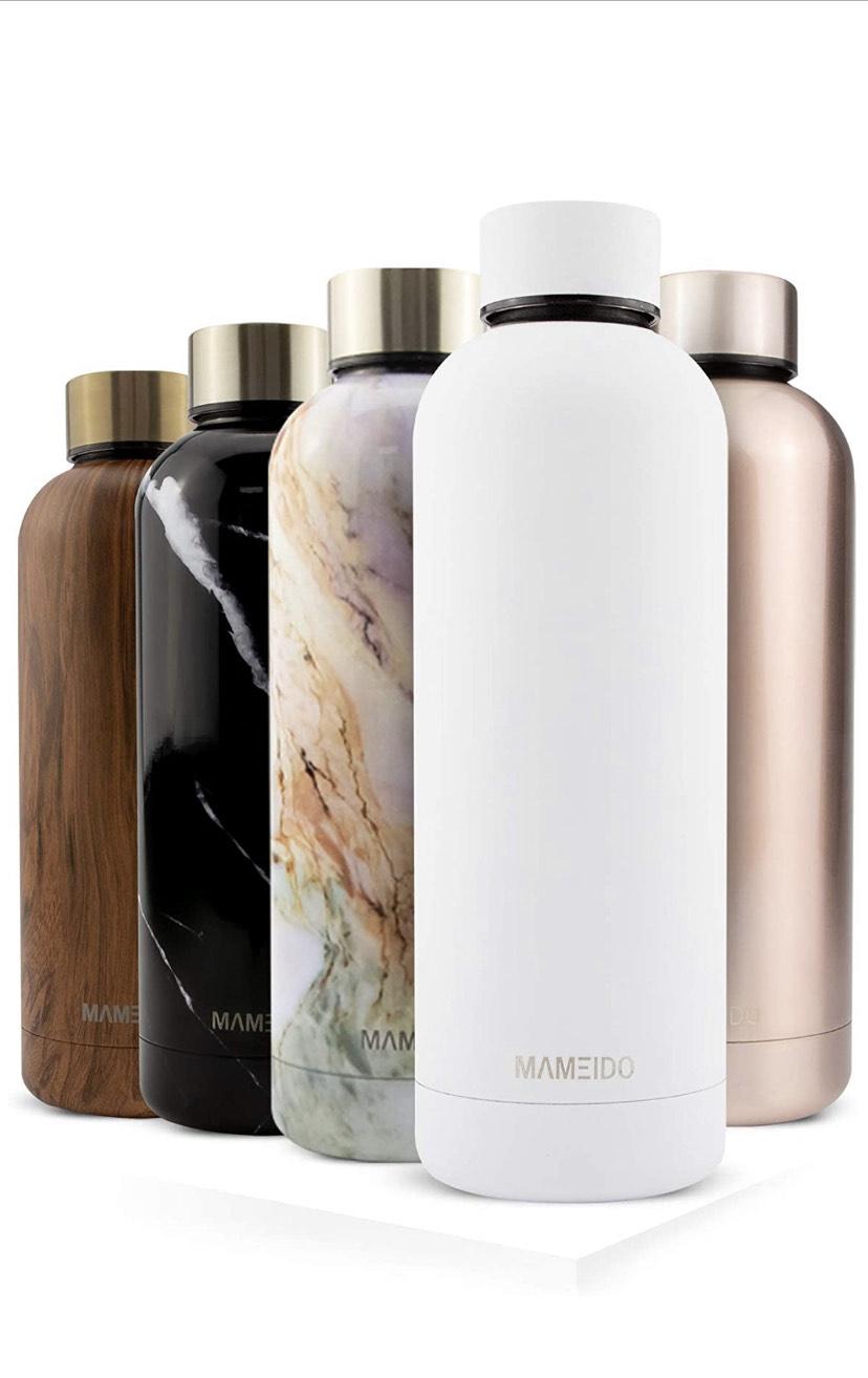 Mameido Botella de agua acero inoxidable 500ml