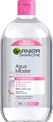 Garnier Skin Active Agua Micelar Clásica para Todo Tipo de Pieles Formato Maxi 700mL