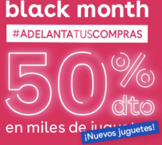 """-50% Black Month en Toys""""R""""Us"""