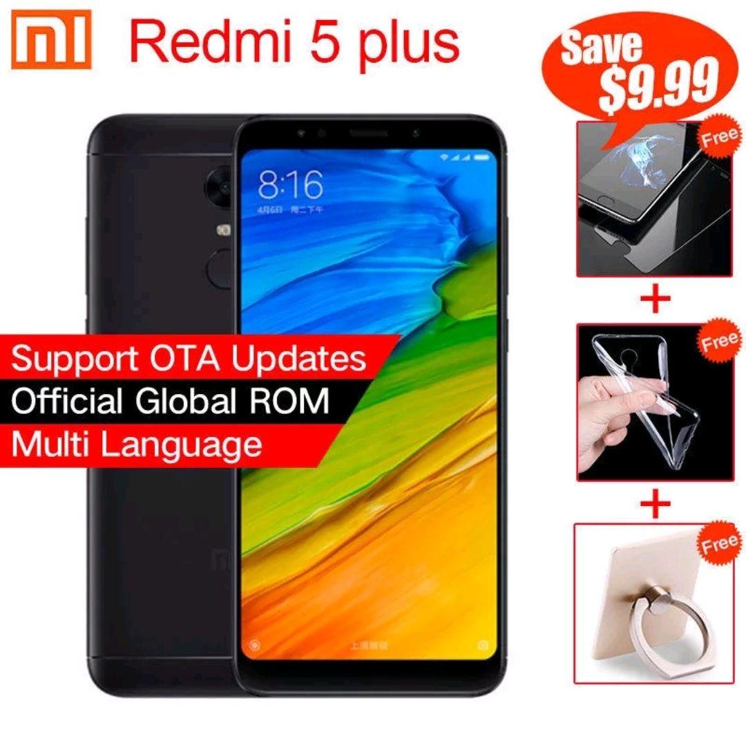 Redmi 5 Plus 4+64 desde HK