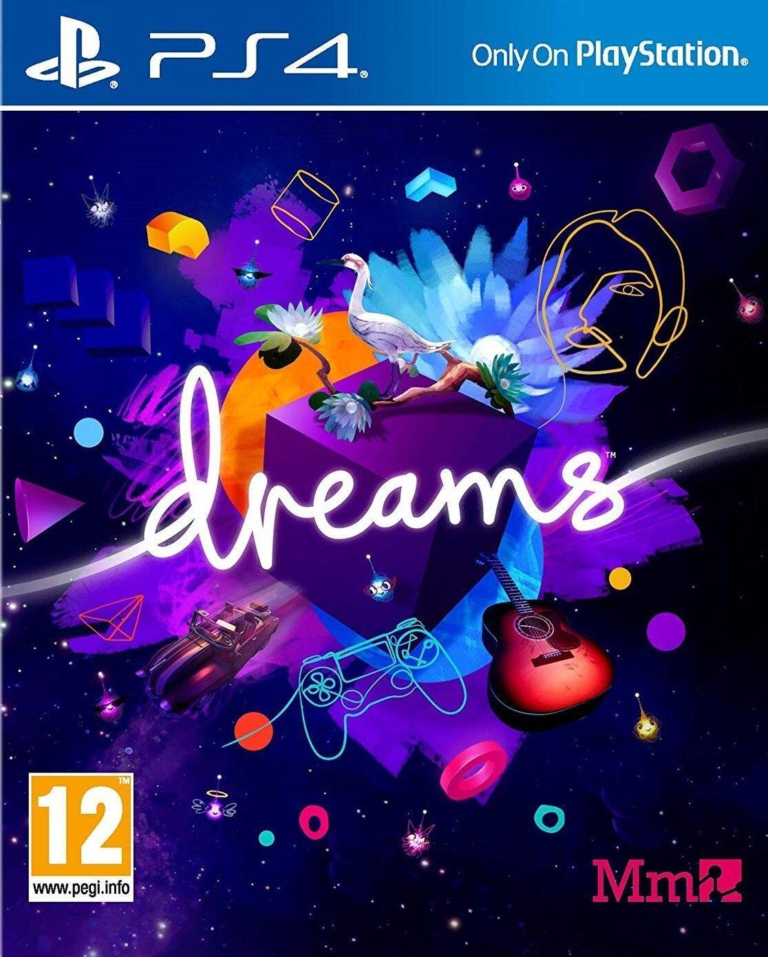 Dreams PS4 Físico - [ Mínimo histórico]