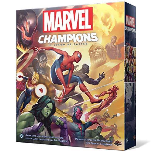 Marvel Champions: El juego de cartas mínimo histórico en Amazon