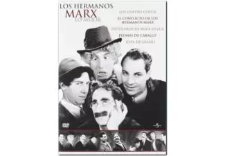 Pack Hermanos Marx (Dvd). Menuda Joya :)