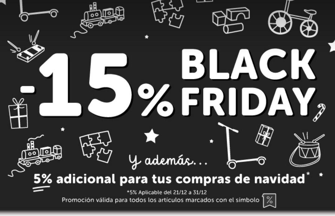 15% Black Friday en Eurekakids + 5%