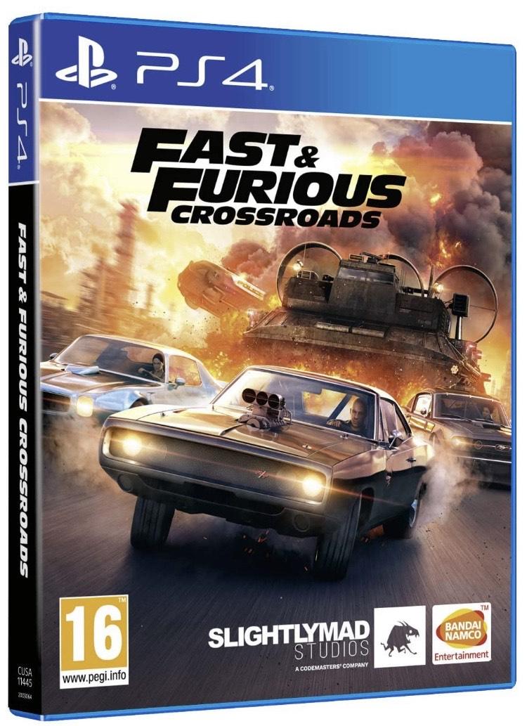 Fast & Furious PS4 - XBOX Fisico