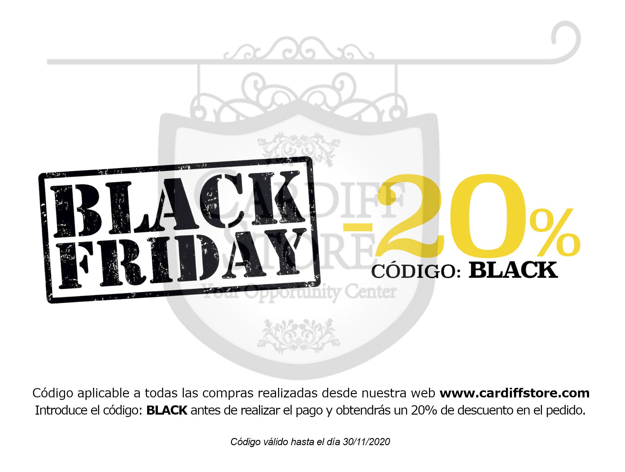 DESCUENTO BLACK FRIDAY Cardiff Store