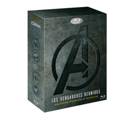 Saga completa Vengadores (Blu-ray)