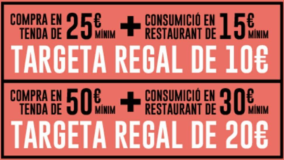 CUPON REGALO 10€ Y 20€ EN CC. RIBERA DEL XÚQUER