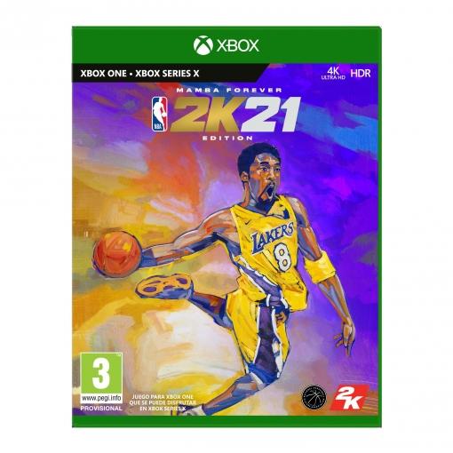 NBA 2K21 Edición Leyenda Mamba forever XBOX ONE - XBOX SERIES X
