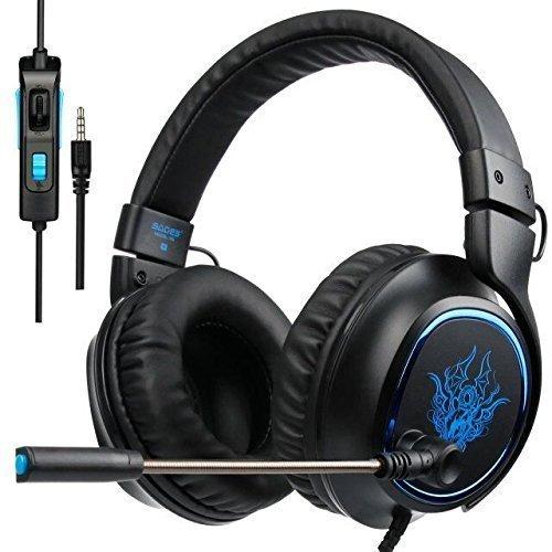 Auriculares gaming SADES R5 Multi-Platform