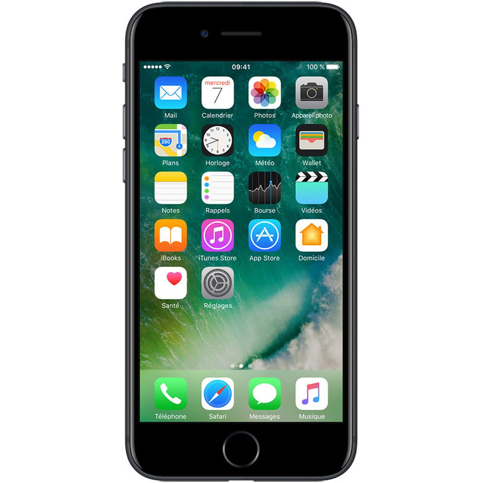 iPhone 7, 128 Gb Color Negro (Reacondicionado)