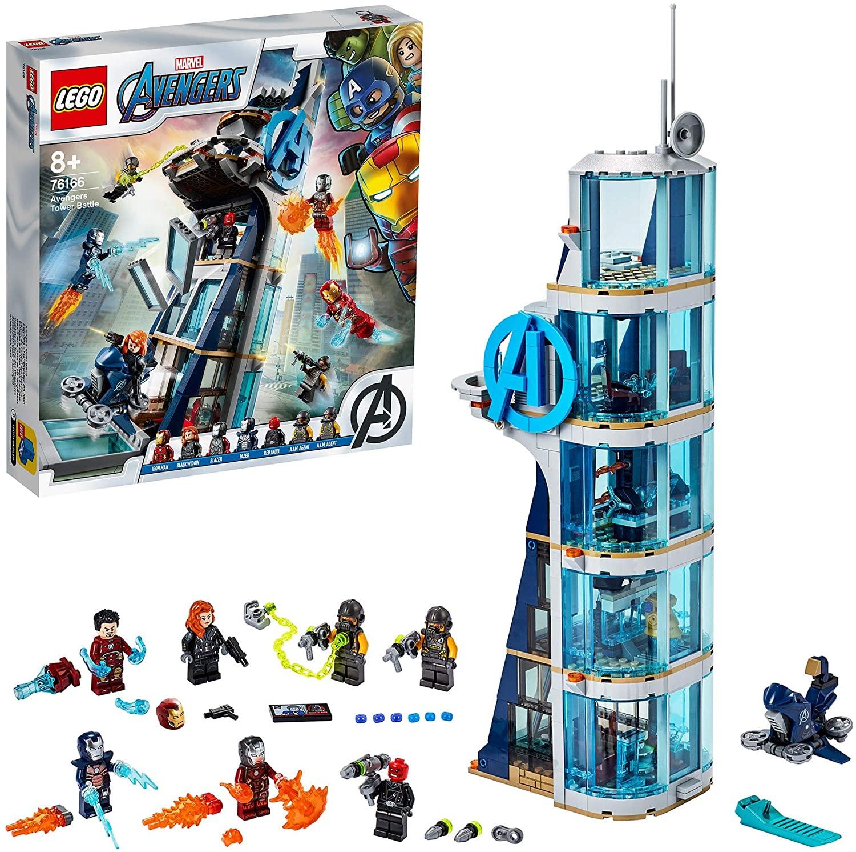 Lego Marvel torre vengadores solo 67.7€