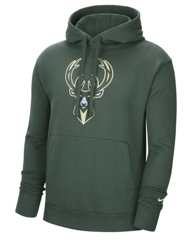 Sudadera Milwaukee Bucks (Antetokounmpo) 2020-2021 Nike Todas Tallas JAGERMEISTER TEAM