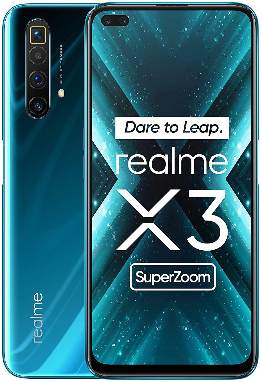 Realme X3 Superzoom desde España, teléfono móvil 120Hz,Smartphone 54MP, selfie 32MP 8GB de RAM + 128GB
