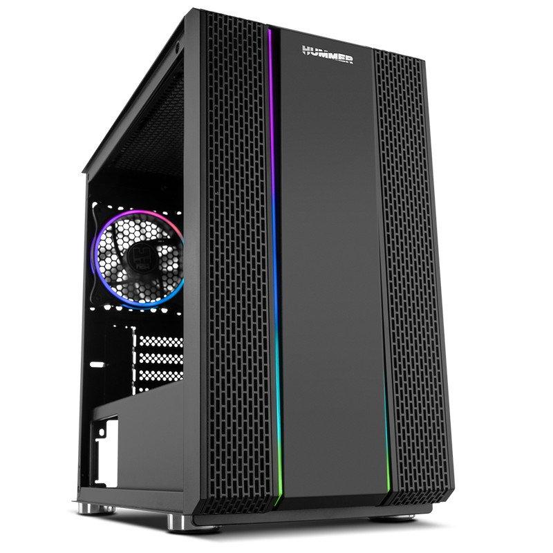 Nox Hummer Fusion S Caja PC, ARGB, USB 3.0