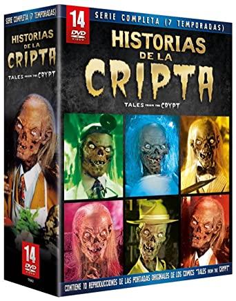 Historias de la Cripta Serie Completa DVD