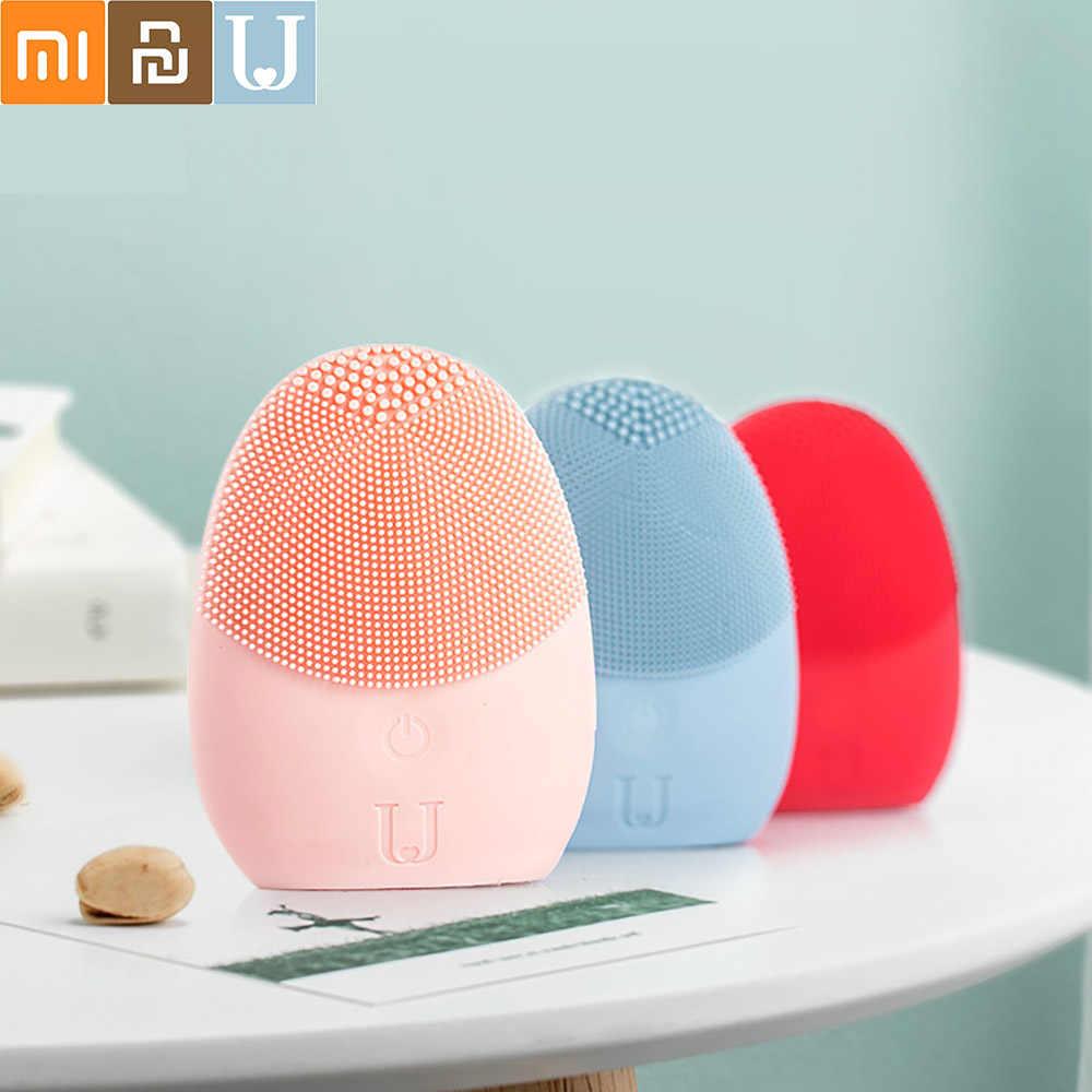 Xiaomi JORDAN & JUDY-Instrumento de limpieza Facial profunda, limpiador Facial sónico, masajeador para el cuidado de la piel