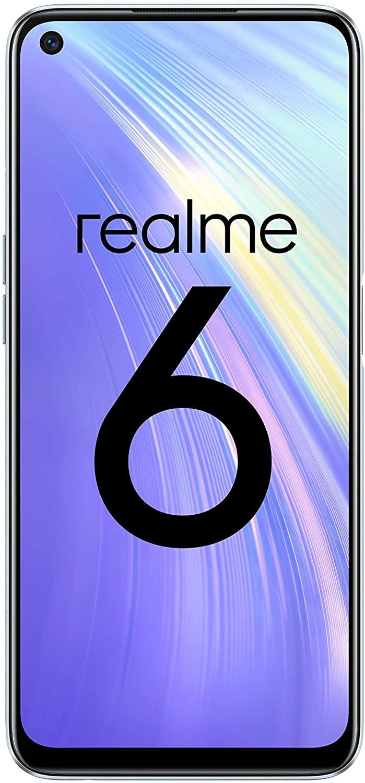 Realme 6 4GB 128GB Versión Global desde España 6.5'' 90Hz Pantalla 64MP Cámaras cuádruples Helio G90T Teléfono 4300mAh
