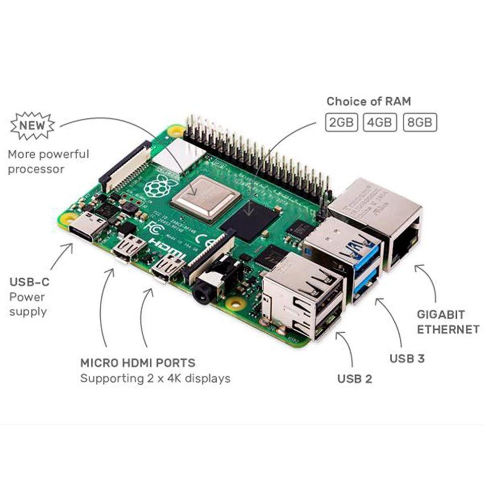 Raspberry Pi 4 8gb asequible