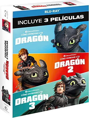 Pack 1-3: Cómo entrenar a tu dragón [Blu ray]