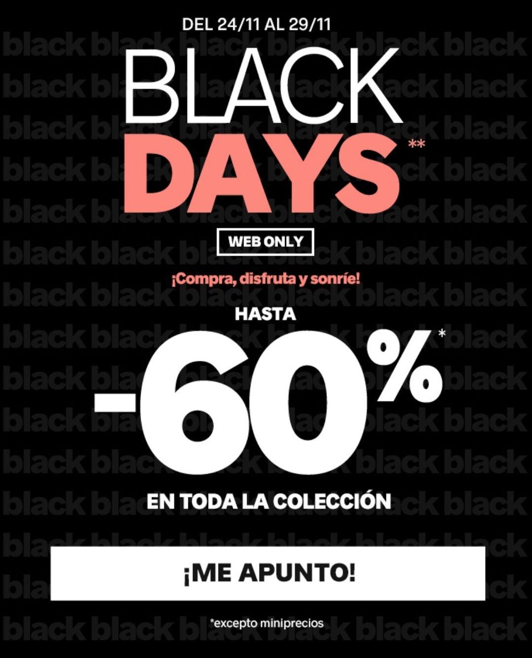 Black Days en Pimkie (sólo online)