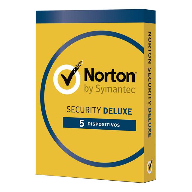 Norton Security Deluxe 5 dispositivos/1 año