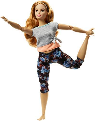 Barbie Muñeca Fashionista movimiento sin límite, curvy