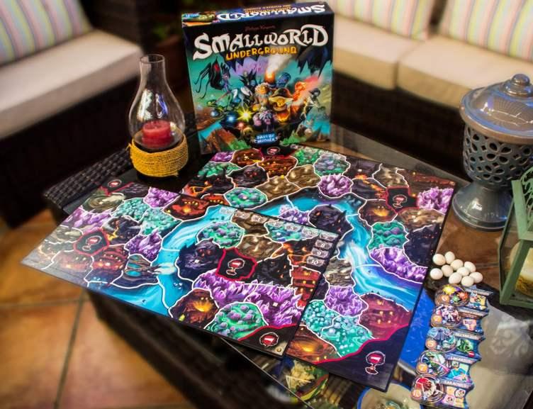 Small World Underground [BGG 7.3] - Juego de mesa