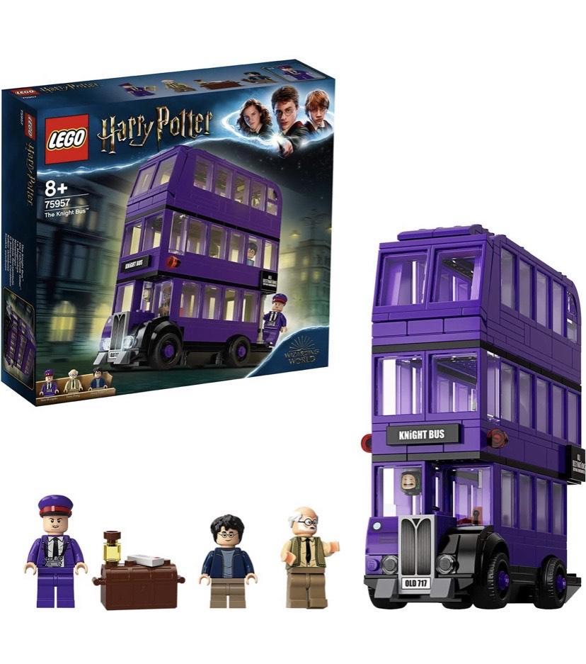 LEGO Harry Potter - Autobús Noctámbulo 3 Plantas, Incluye 3 Minifiguras
