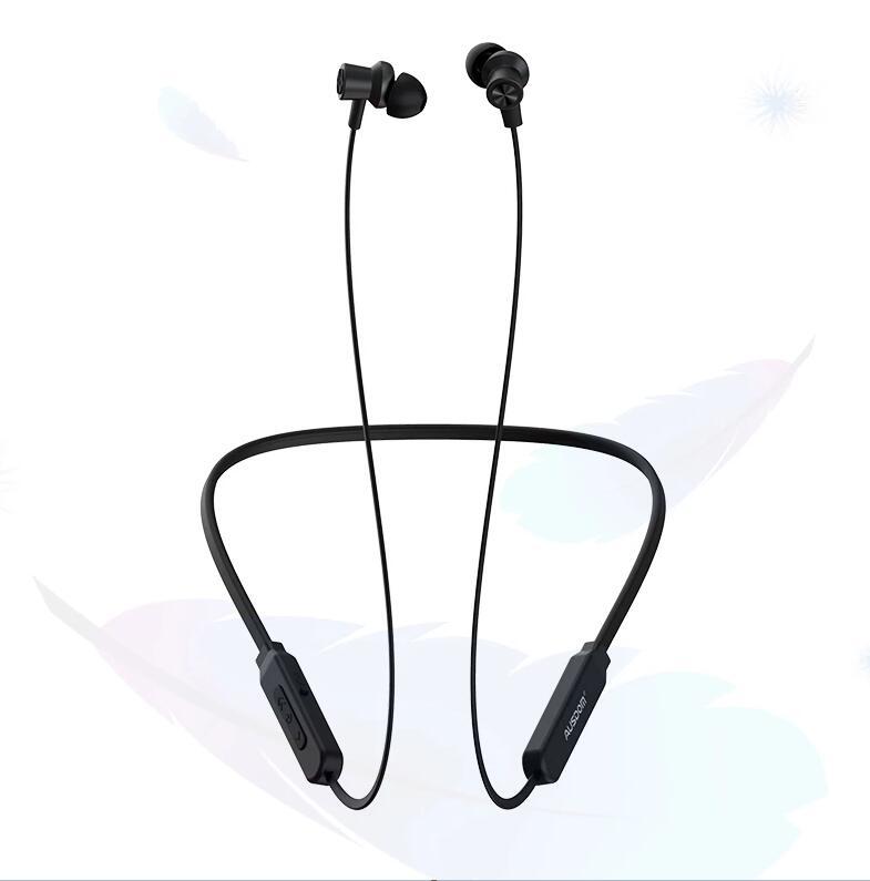 AUSDOM S5-Auriculares deportivos, inalámbricos por Bluetooth con micrófono